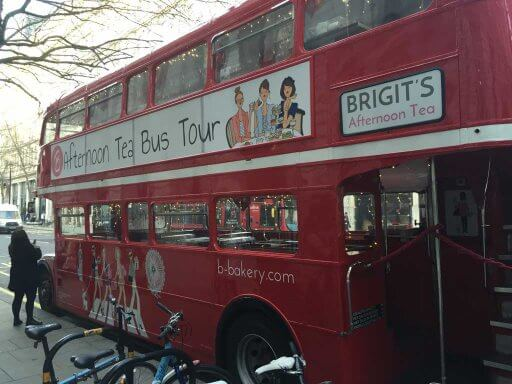 B Bakery Afternoon Tea Bus Tour - travelling treats on a classic London Routemaster