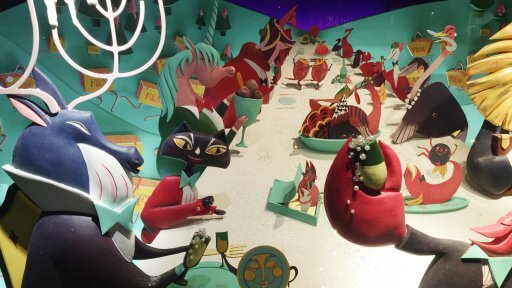 Pay Fortnum & Mason a visit, and see the stories of arch-enemies uniting in harmony for the first time - like the Boy & the Brussell Sprout, the Turkey & the Butcher, and the Lobster & the Chef - if they don't get your Christmas spirit fizzing then nothing will!