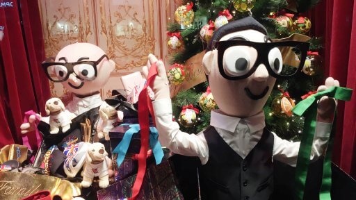 Each of the Dolce & Gabbana displays at Harrods explore Christmas through the eyes of Domenico Dolce & Stefano Gabbana and showcases an element of their own Christmas traditions as well as their latest collection.