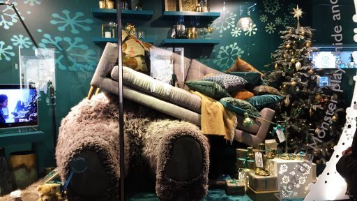 Alongside releasing an emotional Christmas ad John Lewis has extended its story of Moz to its store windows. the windows will be something special. They fart and snore (yes, the windows really do fart and snore) to suggest that Moz is playing in all the rooms of the house. So it's like Moz is really there, get it?