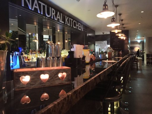 Natural Kitchen offers casual a la carte dining & bars when you have time to relax.
