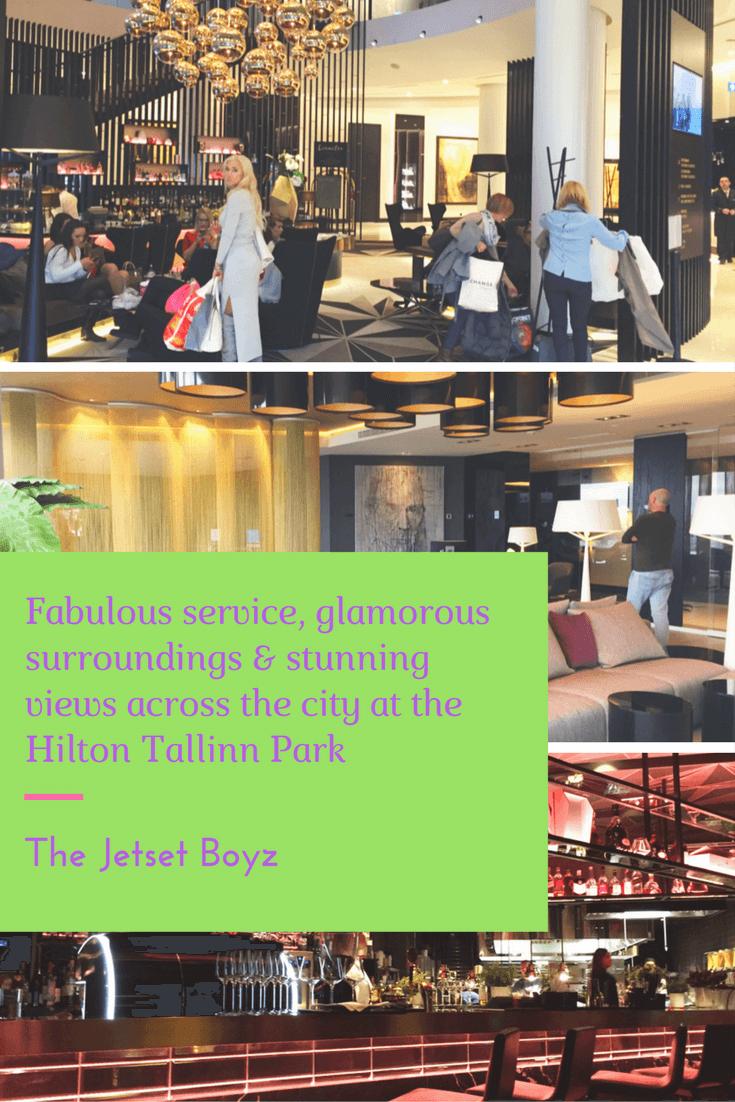 Fabulous service, glamorous surroundings and stunning views across the city at the Hilton Tallinn Park