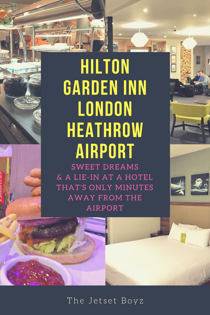 Hilton Garden Inn London Heathrow Airport: Sweet dreams & a lie-in at a hotel that's only minutes away from the airport