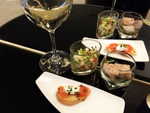 Like many Hilton Executive Lounges, the lounge at the Hilton Tallinn Park offers an evening drinks and canapé service.
