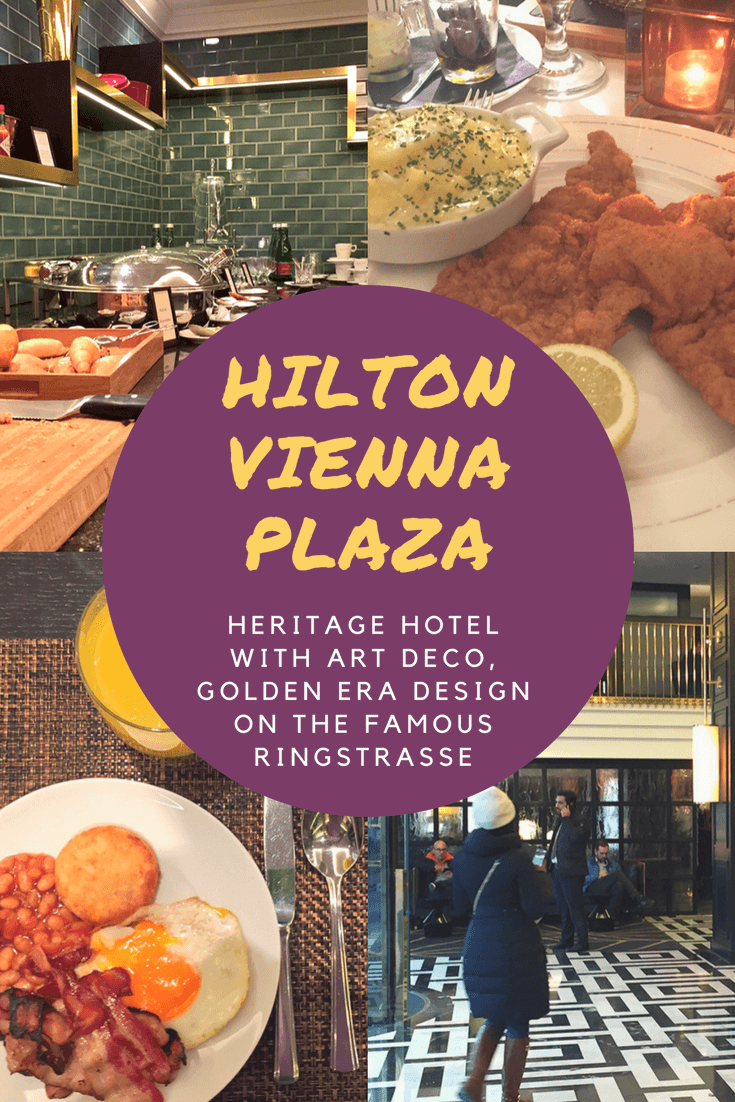 Hilton Vienna Plaza - Heritage hotel with Art Deco, Golden Era design on the famous Ringstrasse