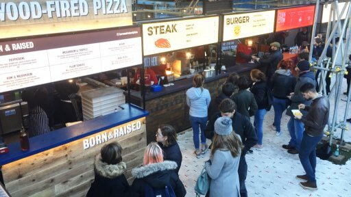 Head for Street Feast at Winterville... Born & Raised bake beautiful British pizzas in a converted Land Rover. Their superb wood-fired mobile pizzeria brings quality ingredients to the fore with truly innovative flavour combinations, such as Cobble Lane Pig Heart Pepperoni and Beetroot Dough.