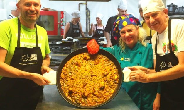 Paella lessons in Valencia; learning our saffron from our socarrat