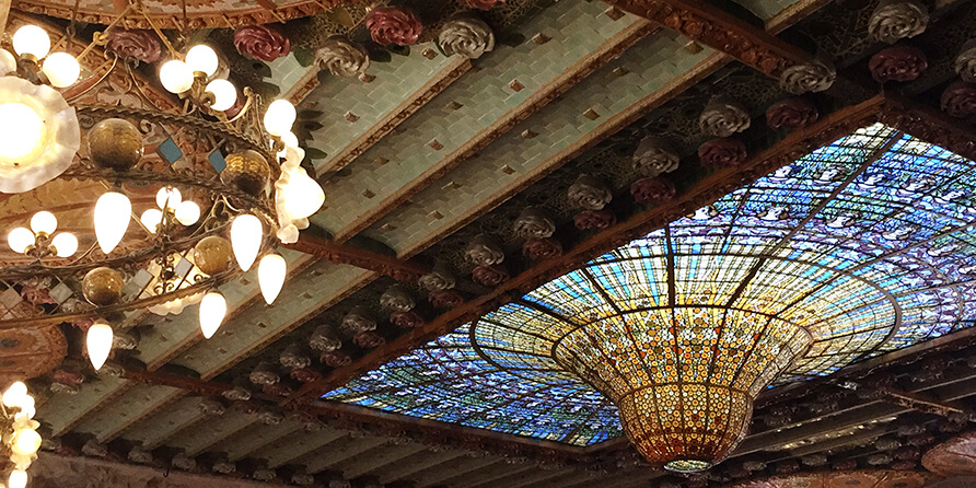 The Palau de la Música Catalana: A temple of light and sound
