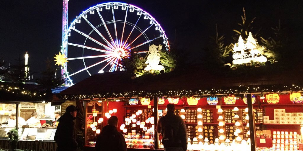 'Tis the season to indulge in some mulled wine at the London Christmas markets